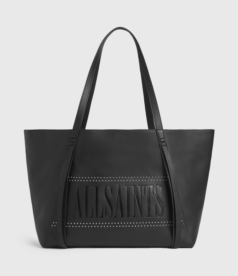Womens Navarre East West Leather Tote Bag (black) - Image 2