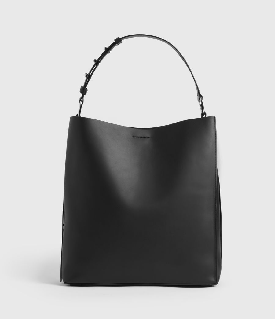 Womens Celadine North South Leather Tote Bag (chalk_white) - Image 1