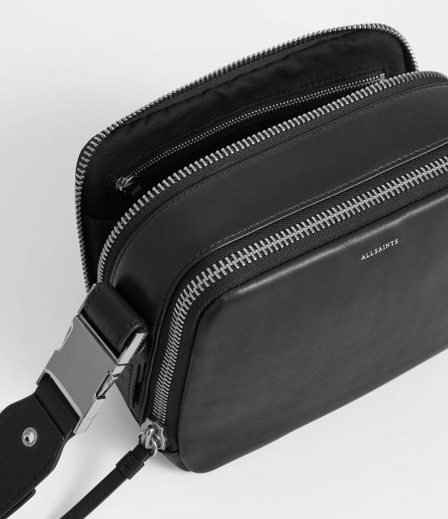 6ae940a459e5c Clip Leather Fanny Pack Crossbody Bag