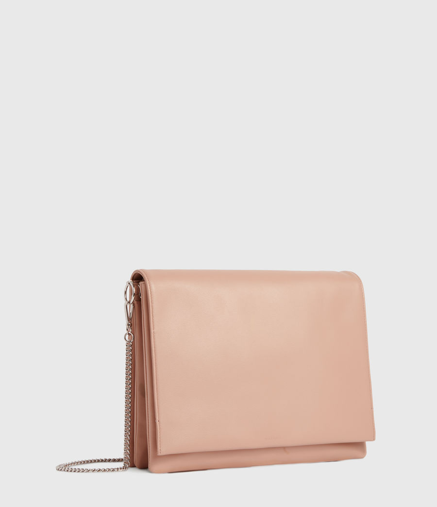 Womens Culford Leather Shoulder Bag (nude_pink) - Image 3