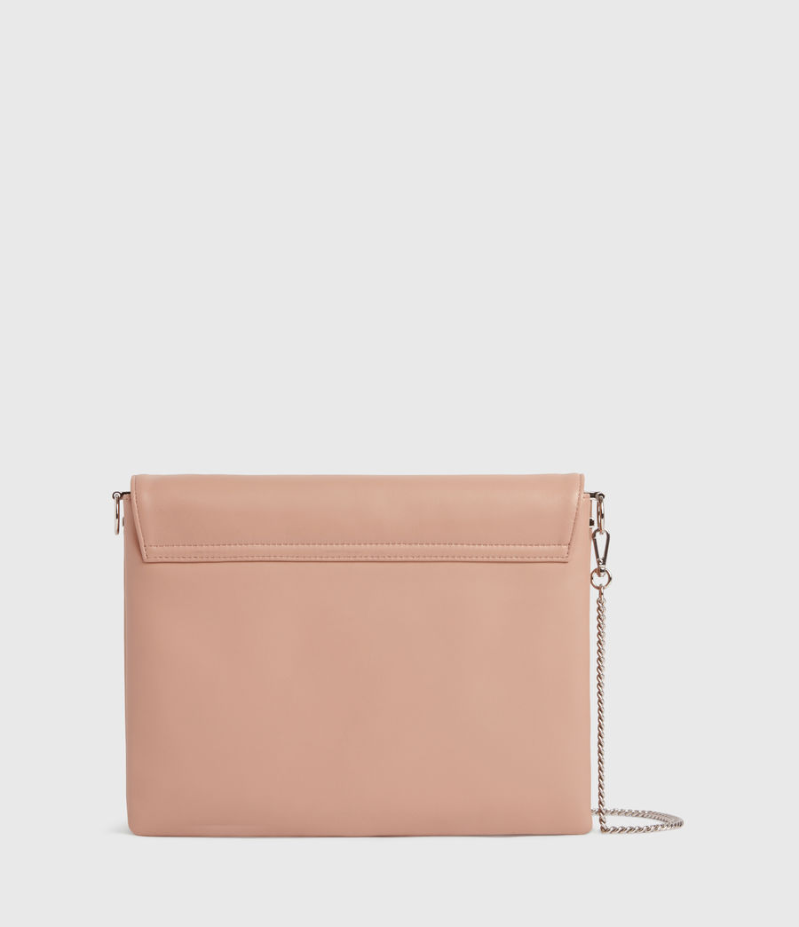 Mujer Culford Leather Shoulder Bag (nude_pink) - Image 7