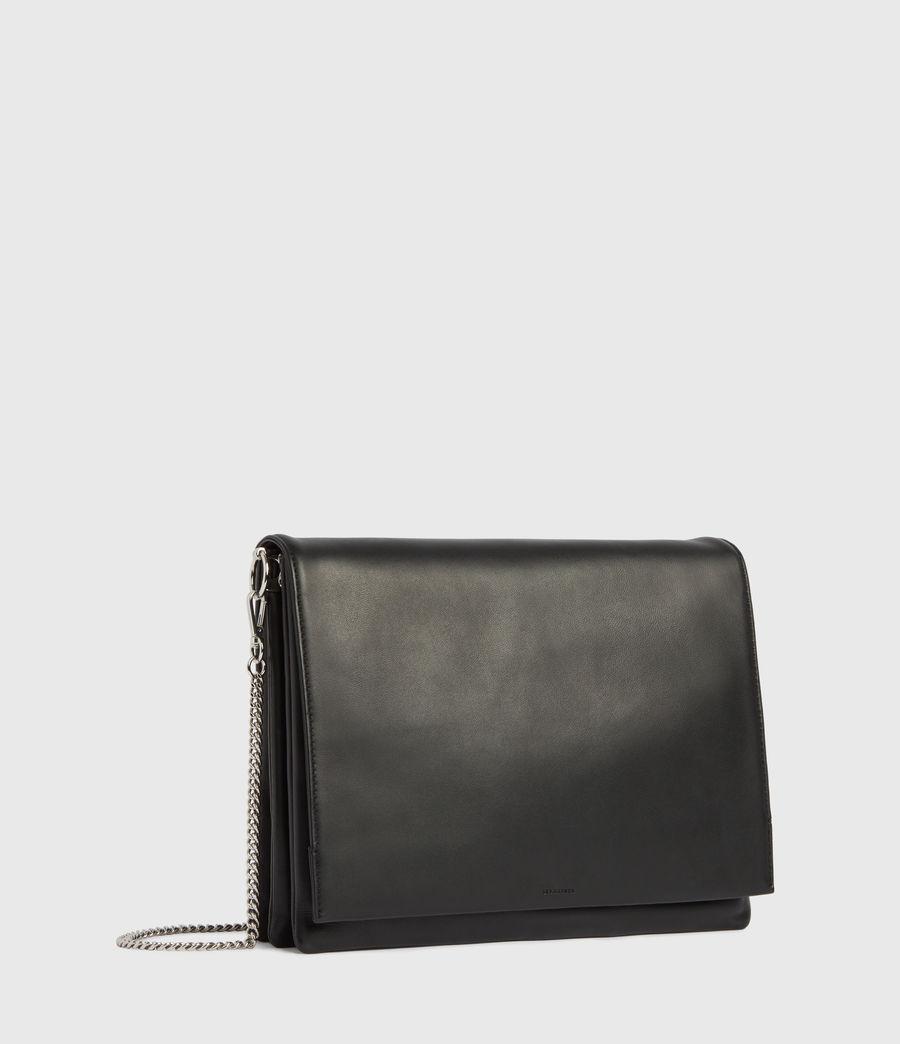 Womens Culford Leather Shoulder Bag (black) - Image 1
