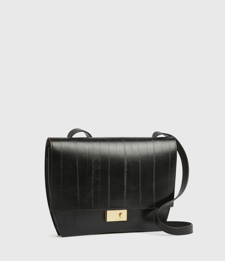 Womens Charterhouse Leather Shoulder Bag (black) - Image 2