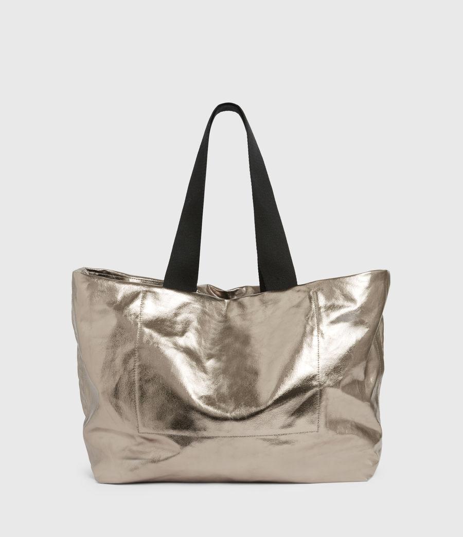 Womens Acari Print Tote Bag (silver) - Image 7