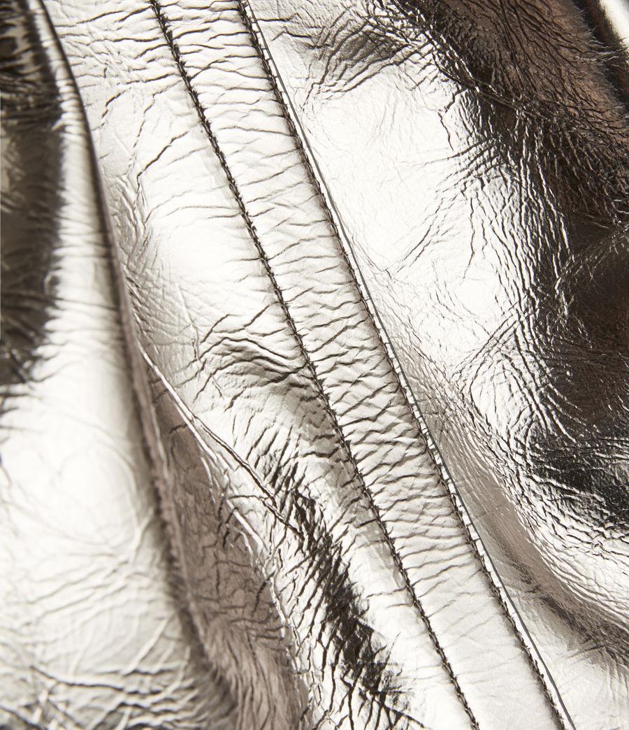 Women's Allington Large East West Leather Tote Bag (silver) - Image 7
