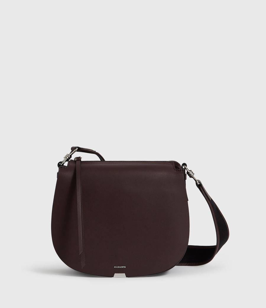 Donne Borsa A Tracolla Darcy Round, In Pelle (bordeaux_red) - Image 1