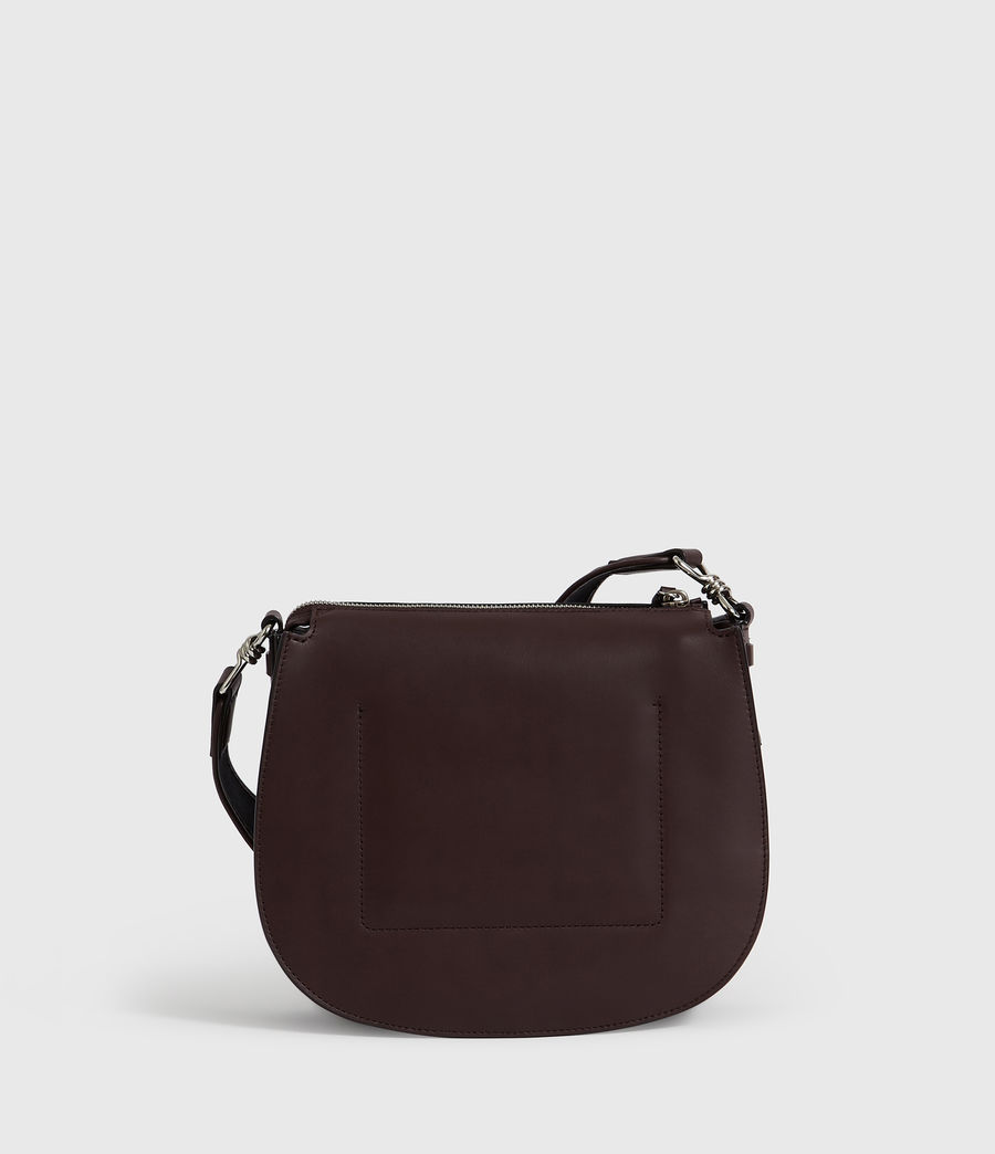 Donne Borsa A Tracolla Darcy Round, In Pelle (bordeaux_red) - Image 8