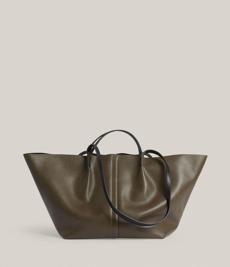 Womens Odette East West Tote Bag (dusky_khaki) - Image 1