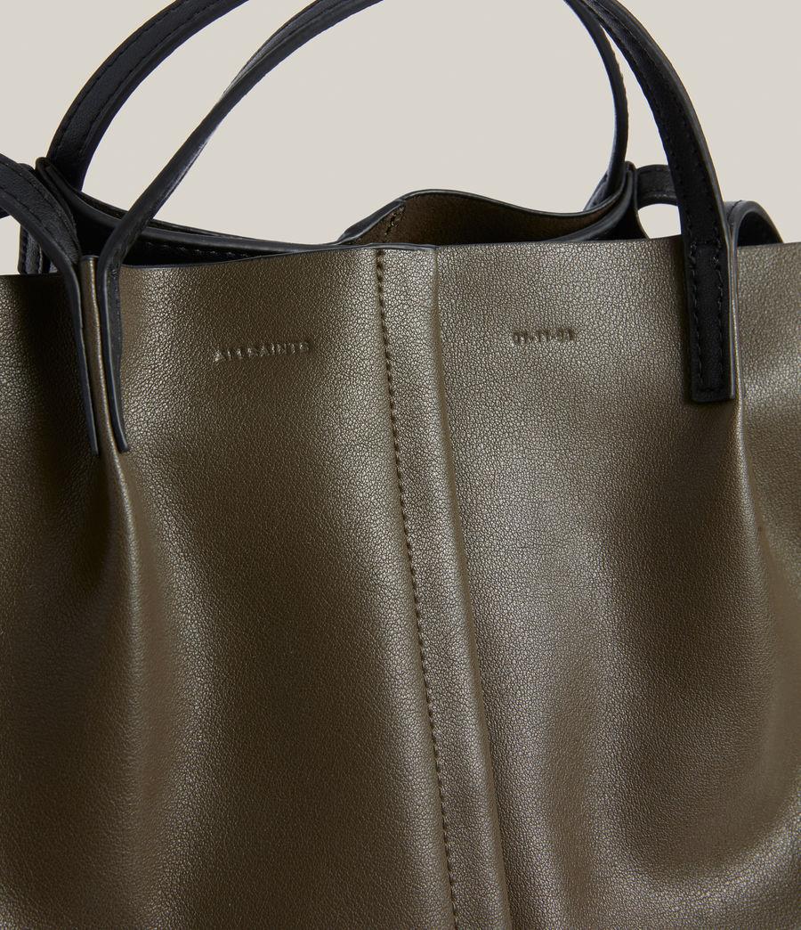 Womens Odette East West Tote Bag (dusky_khaki) - Image 5