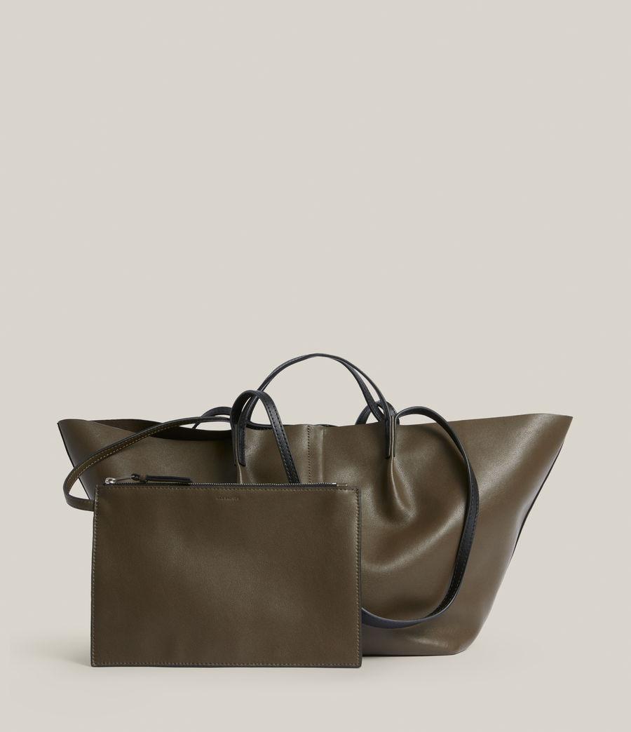Womens Odette East West Tote Bag (dusky_khaki) - Image 7