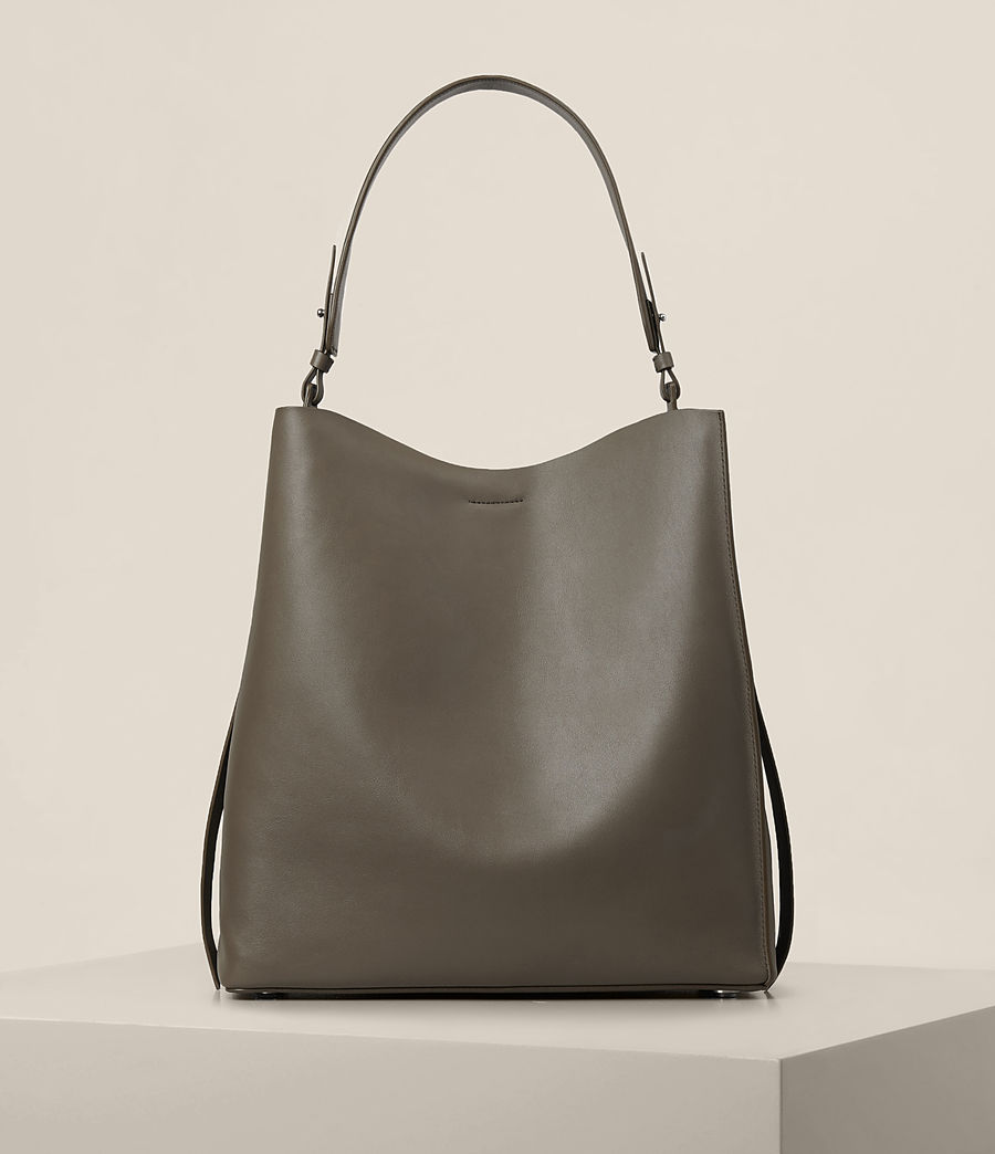 Damen Paradise North South Tote (mink_grey) - Image 1