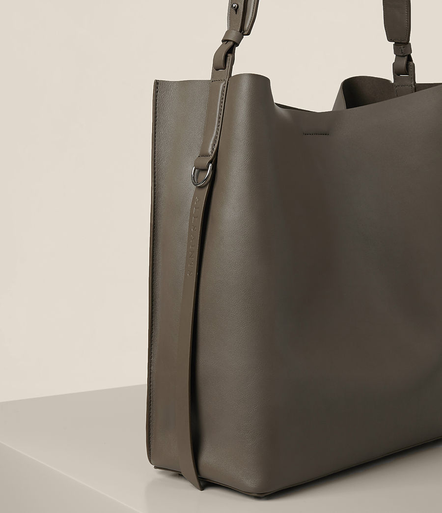 Damen Paradise North South Tote (mink_grey) - Image 3