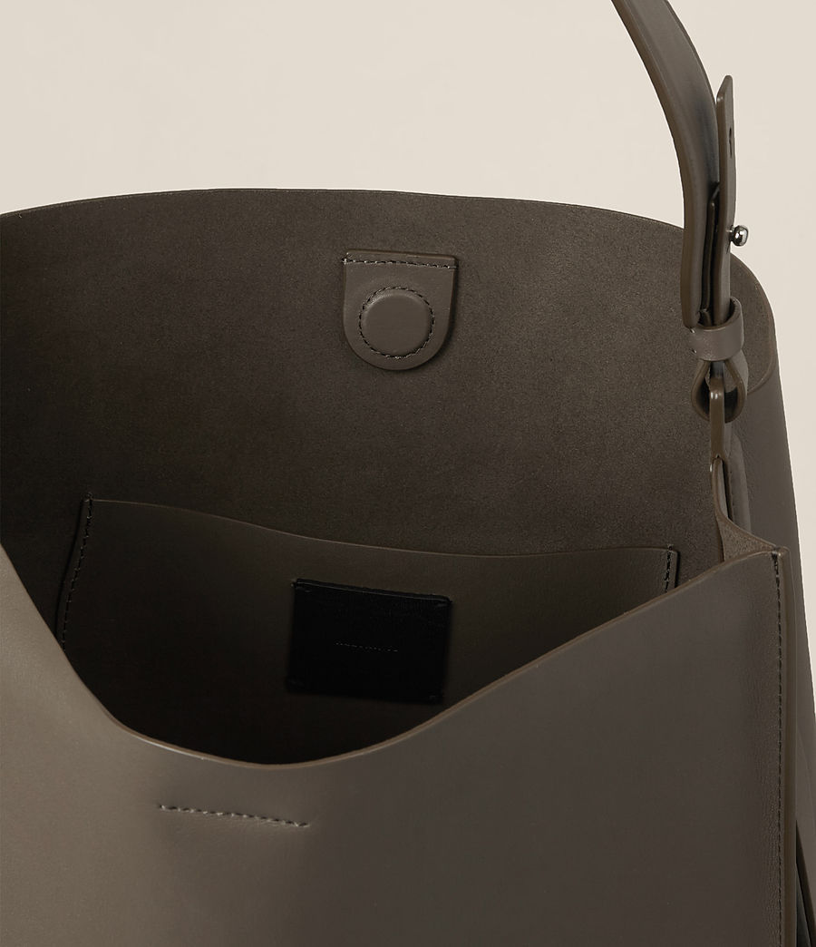 Damen Paradise North South Tote (mink_grey) - Image 5