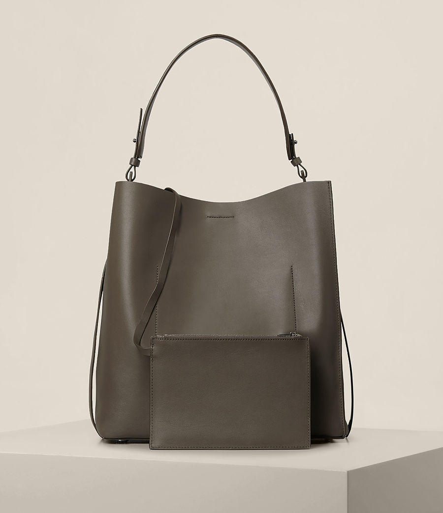 Damen Paradise North South Tote (mink_grey) - Image 7