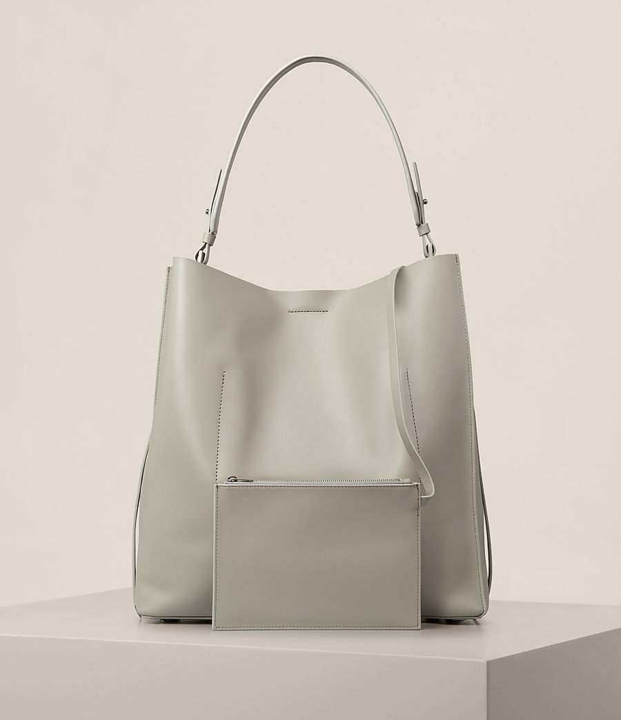 Donne Tote Paradise North South (light_cement_grey) - Image 7