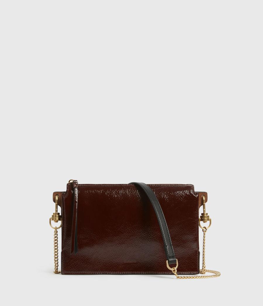 Women's Fletcher Leather Crossbody Bag (biscuit_brown) - Image 1