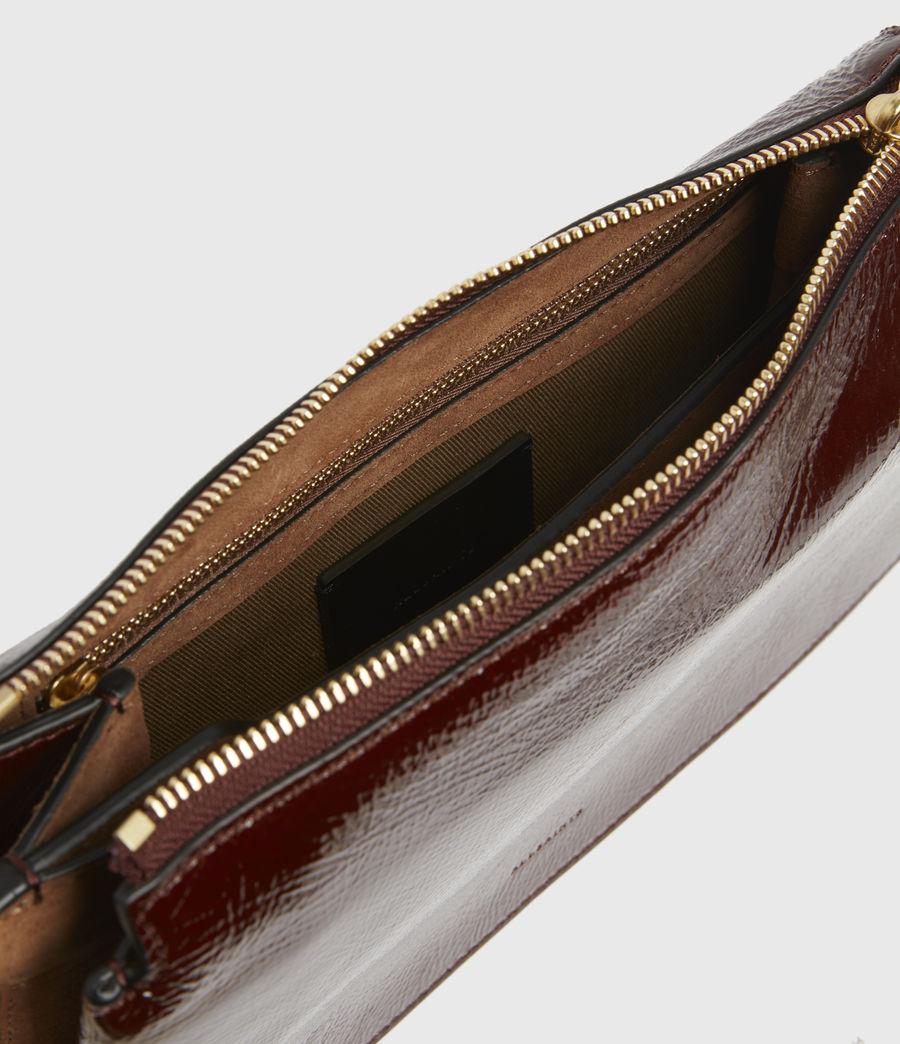 Women's Fletcher Leather Crossbody Bag (biscuit_brown) - Image 2