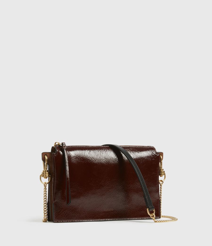 Women's Fletcher Leather Crossbody Bag (biscuit_brown) - Image 3