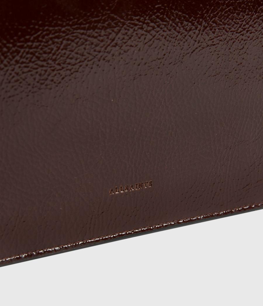Women's Fletcher Leather Crossbody Bag (biscuit_brown) - Image 4