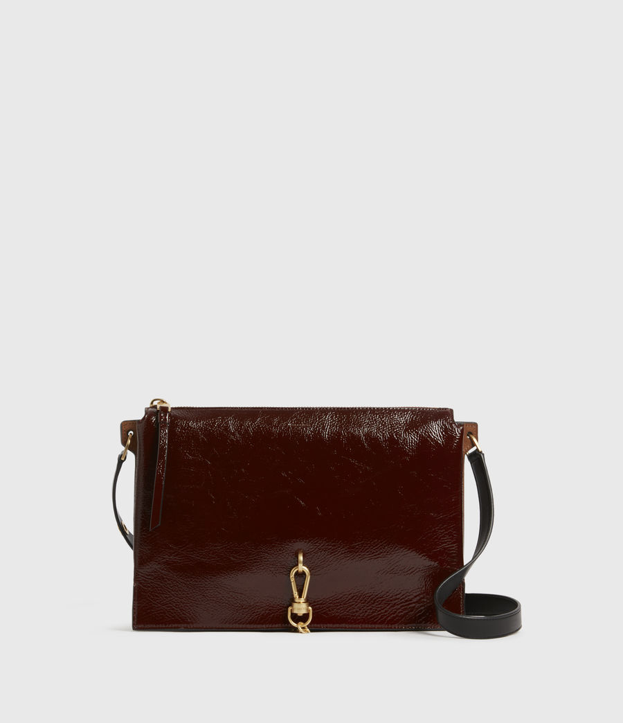 Womens Sheringham Leather Shoulder Bag (biscuit_brown) - Image 2