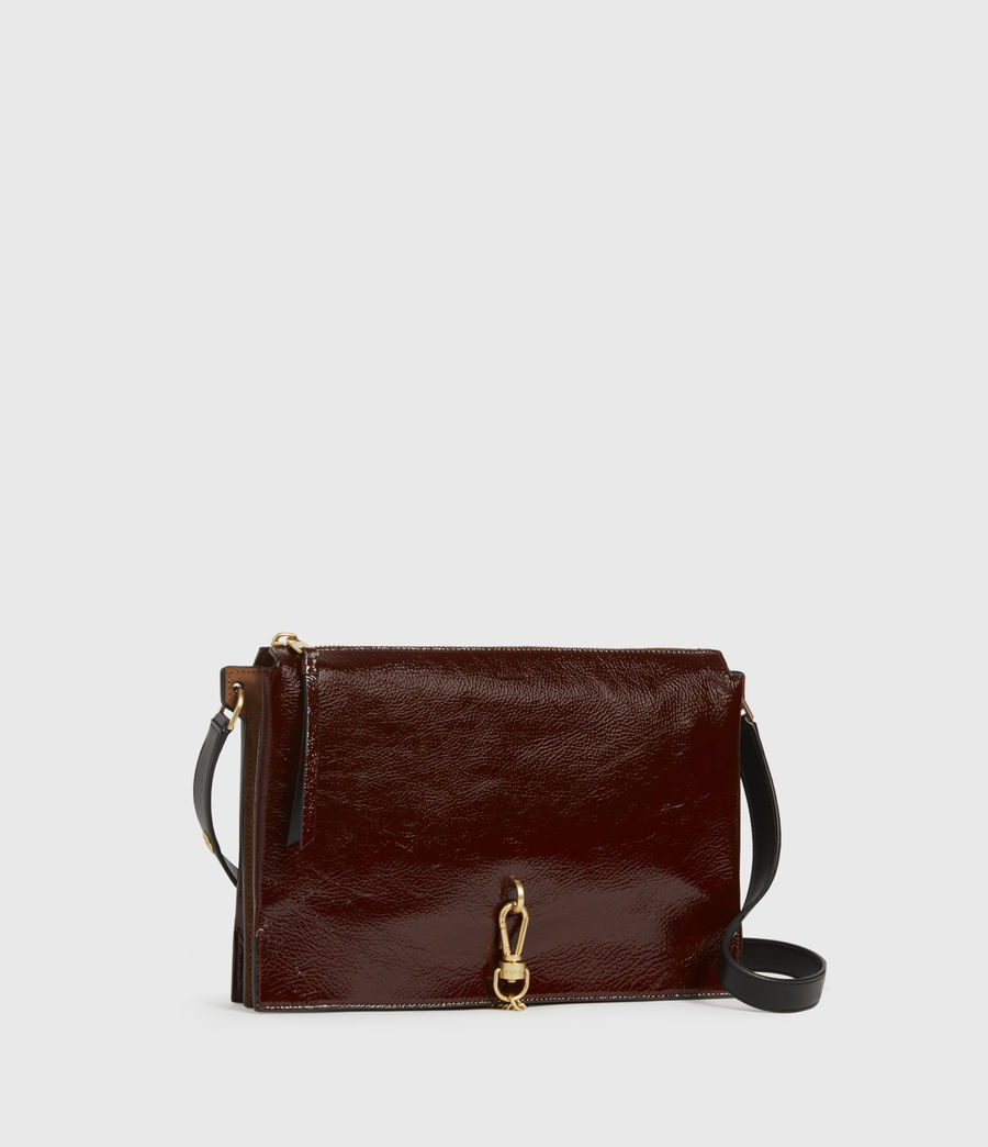 Womens Sheringham Leather Shoulder Bag (biscuit_brown) - Image 4