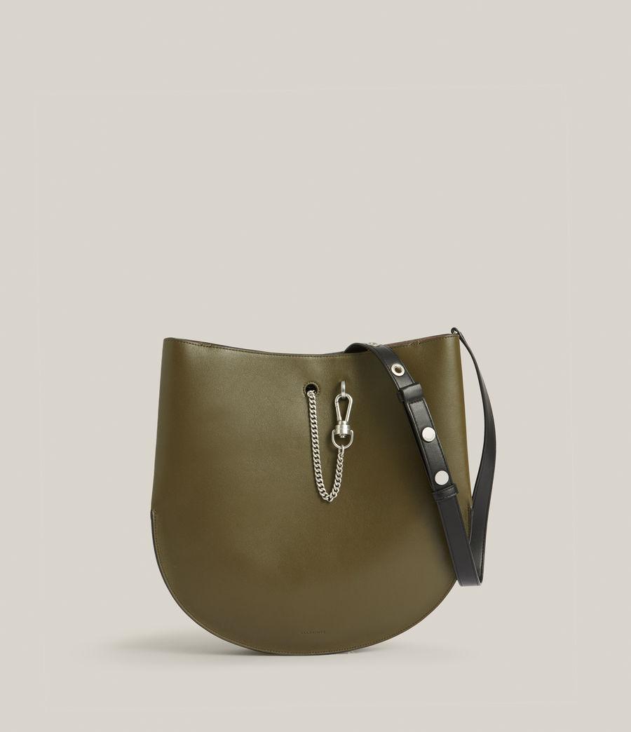 Women's Beaumont Leather Hobo Bag (dusky_khaki) - Image 2