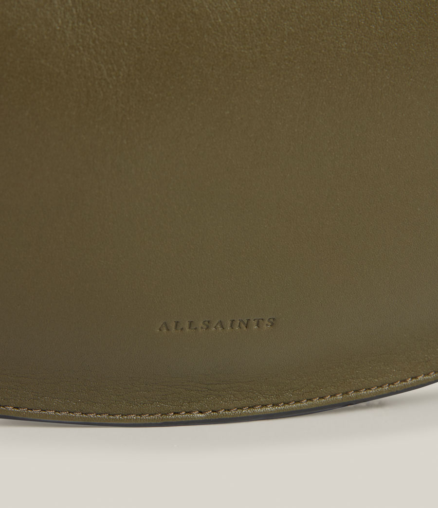 Women's Beaumont Leather Hobo Bag (dusky_khaki) - Image 7