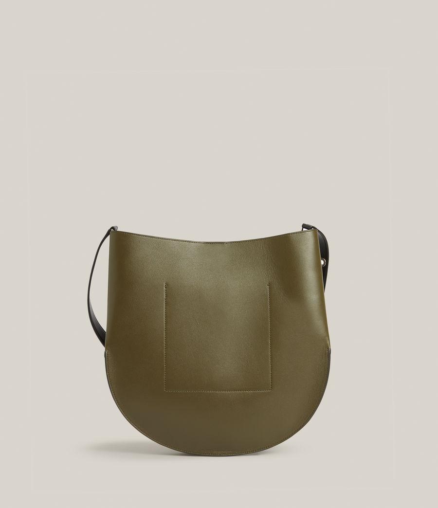 Women's Beaumont Leather Hobo Bag (dusky_khaki) - Image 8