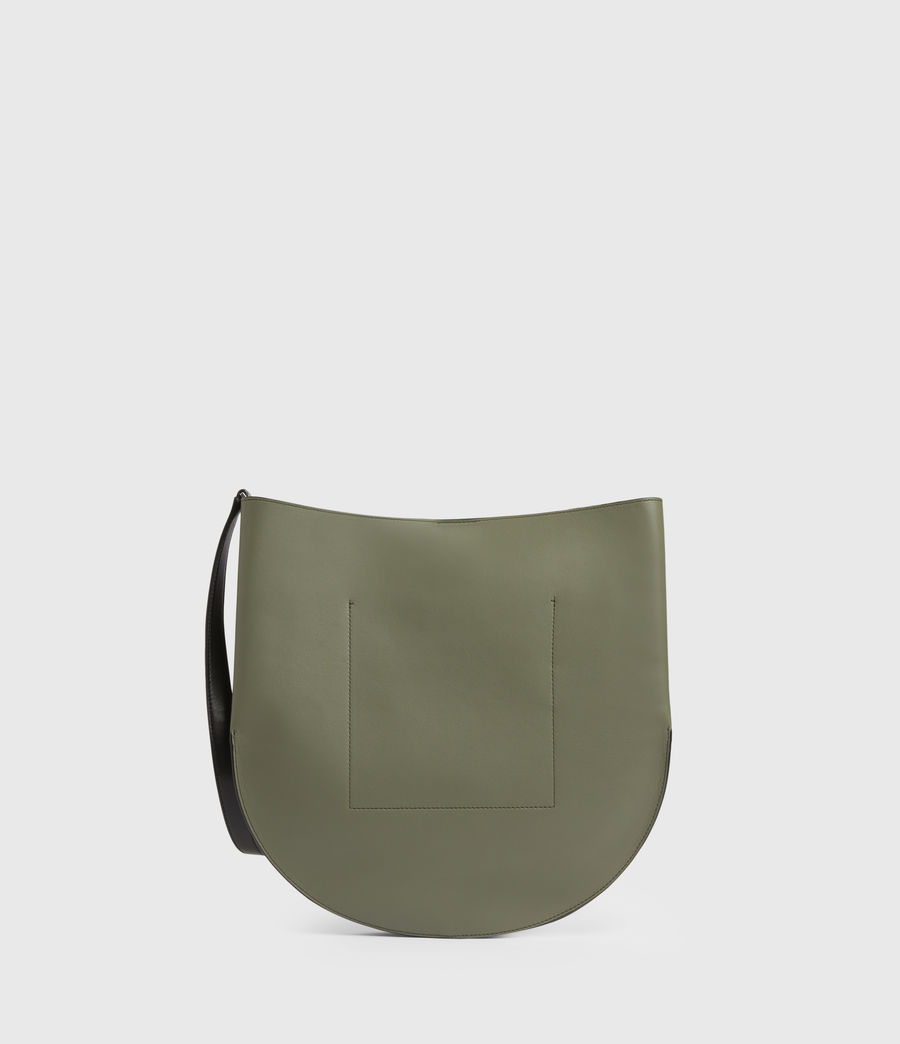 Womens Beaumont Leather Hobo Bag (sage_green) - Image 9