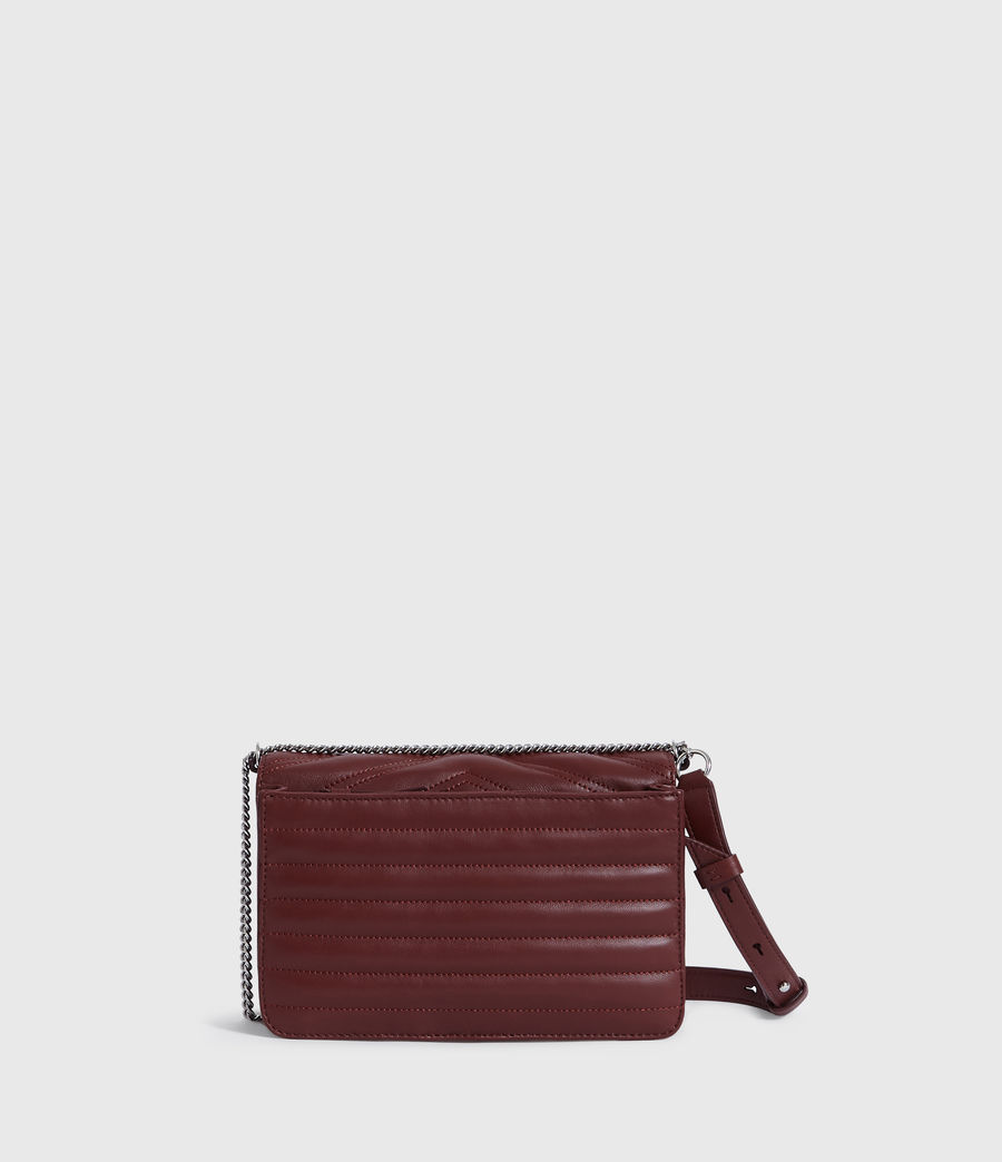 Womens Justine Small Crossbody Bag (black) - Image 6