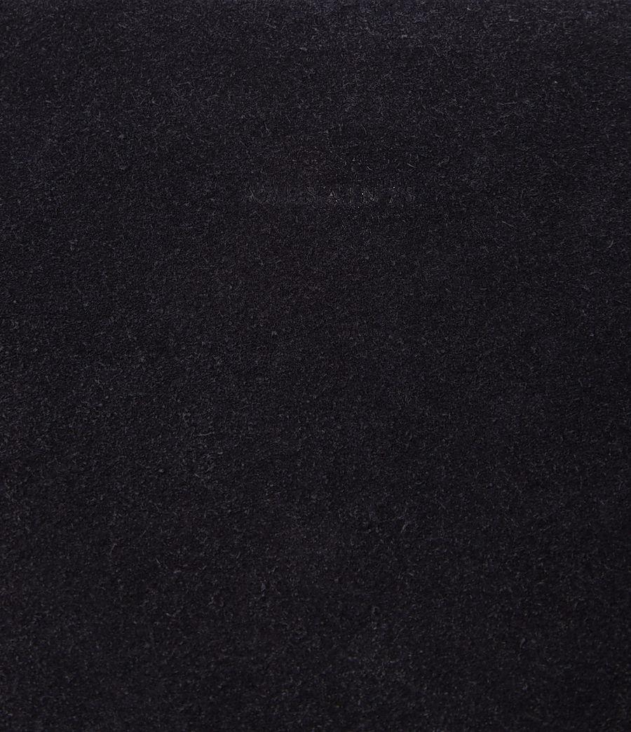 Femmes Grand sac hobo Kanda en cuir velours (dark_blue) - Image 3