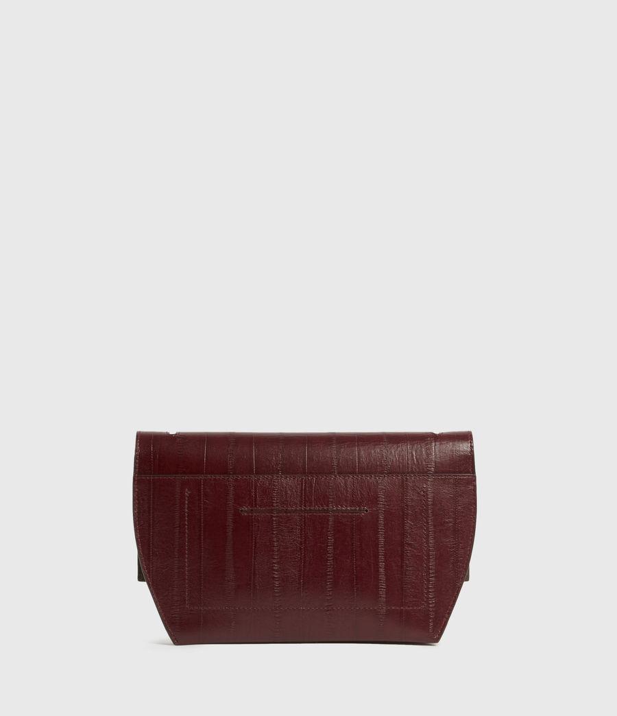 Women's Harley Leather Eel Crossbody Bag (burnt_sienna_red) - Image 5