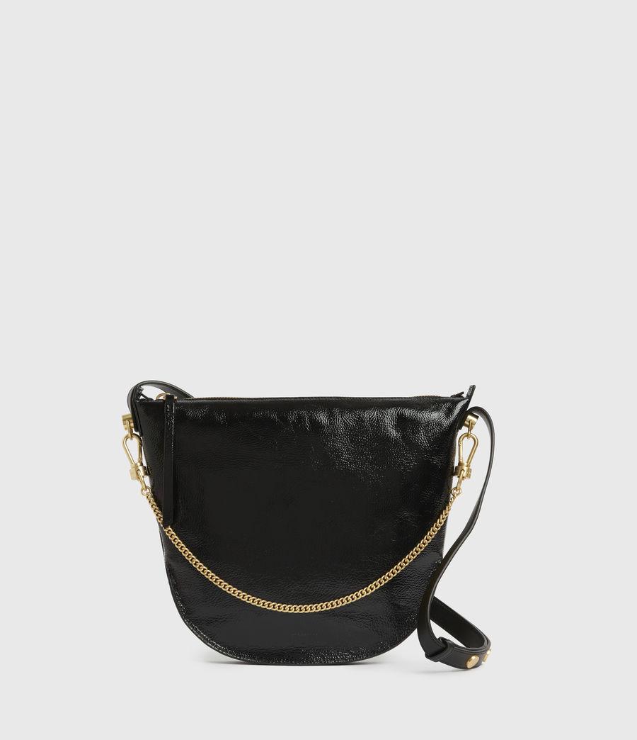 Women's Blake Leather Shoulder Bag (squid_ink_blue) - Image 1