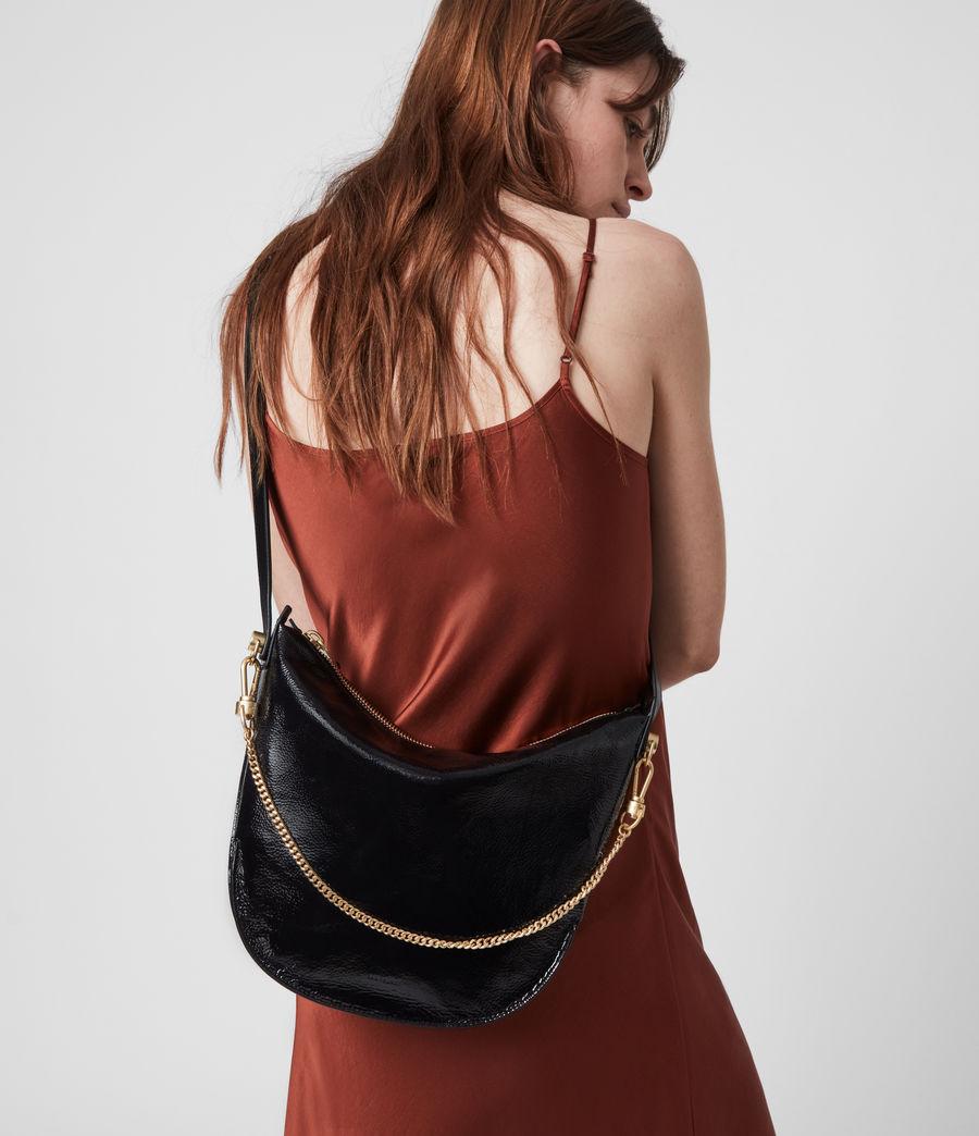 Women's Blake Leather Shoulder Bag (squid_ink_blue) - Image 2
