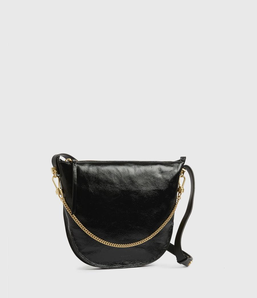 Women's Blake Leather Shoulder Bag (squid_ink_blue) - Image 4