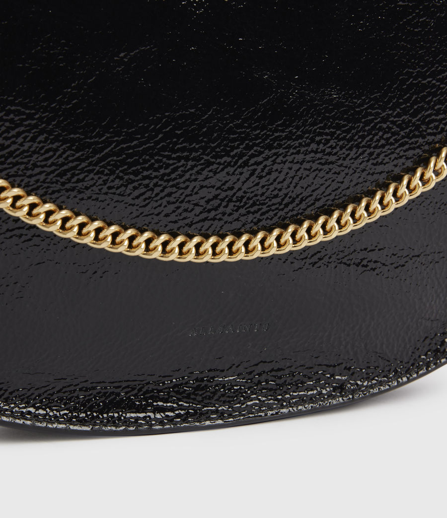 Women's Blake Leather Shoulder Bag (squid_ink_blue) - Image 5