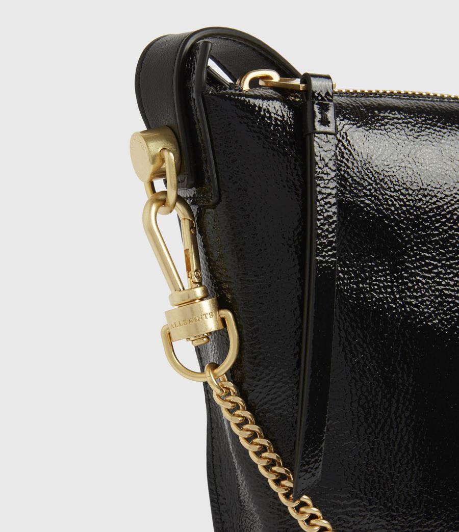 Women's Blake Leather Shoulder Bag (squid_ink_blue) - Image 6