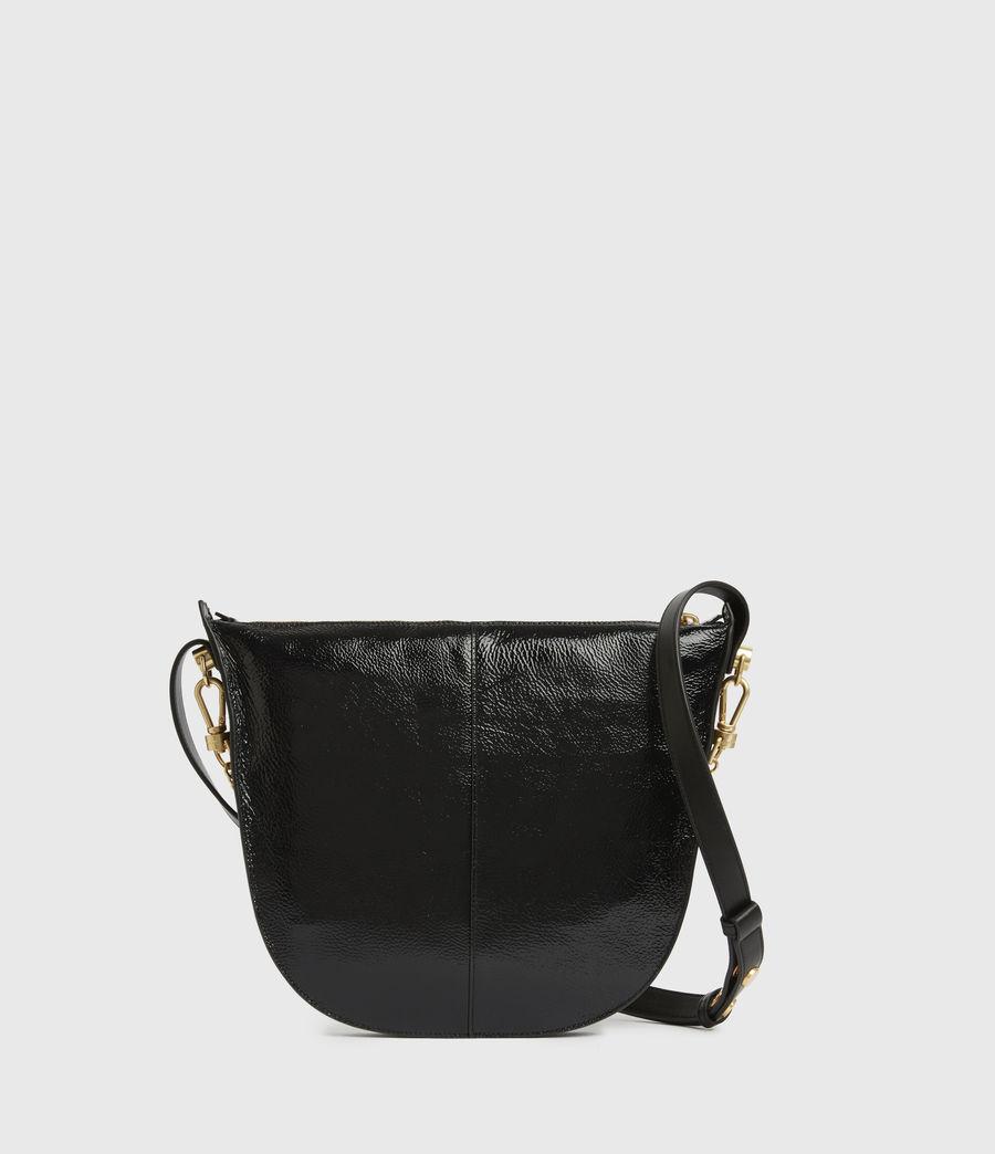 Women's Blake Leather Shoulder Bag (squid_ink_blue) - Image 7