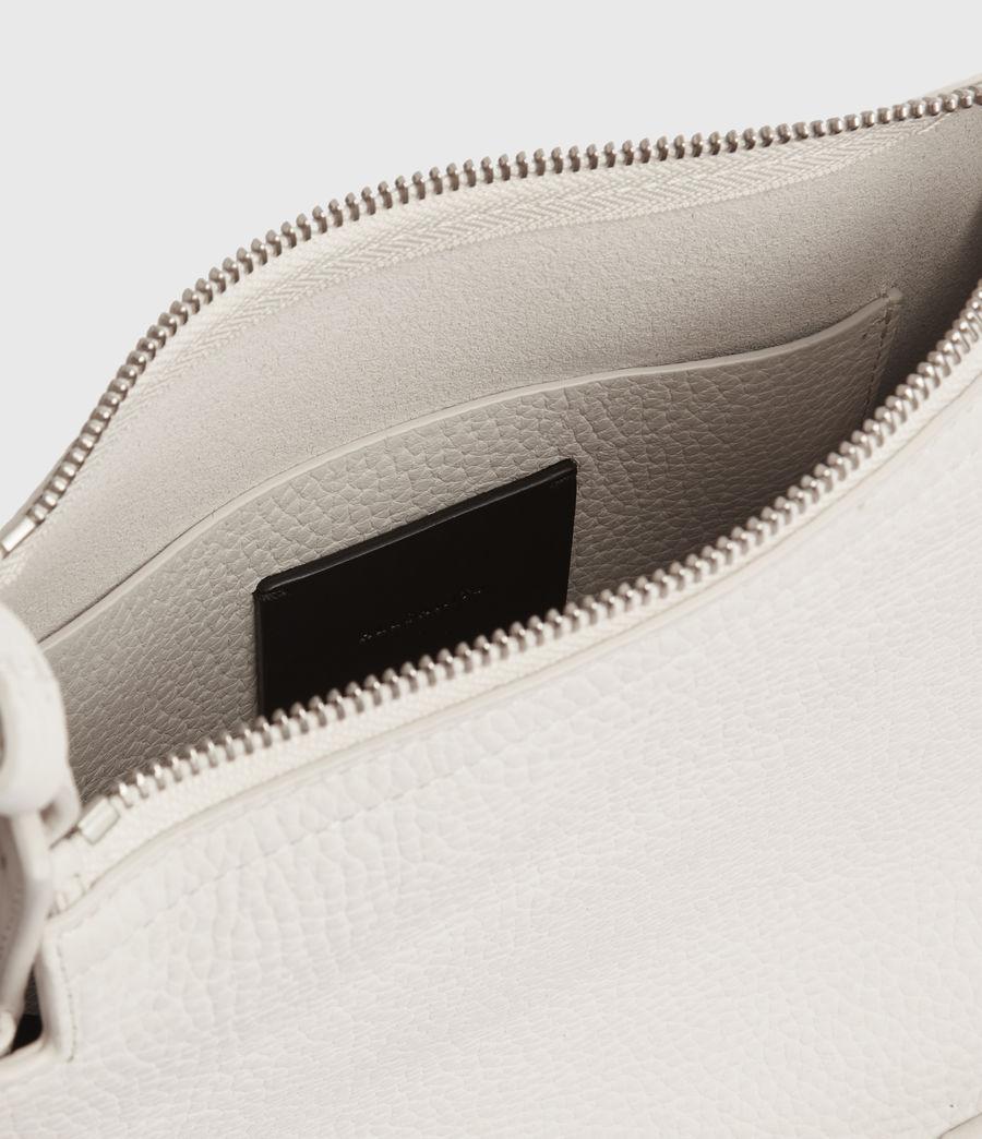 Womens Mori Lea Leather Crossbody Bag (chalk_white) - Image 3