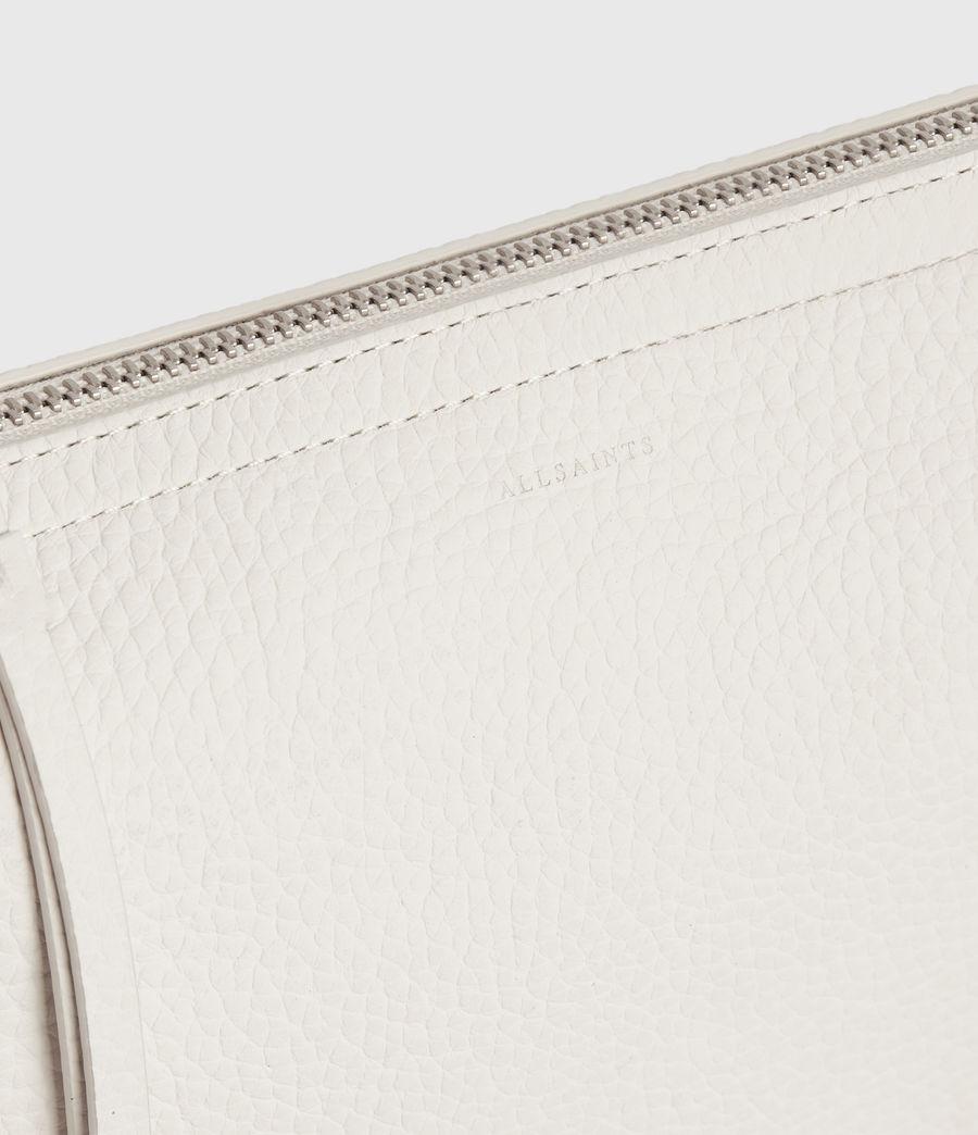 Womens Mori Lea Leather Crossbody Bag (chalk_white) - Image 5