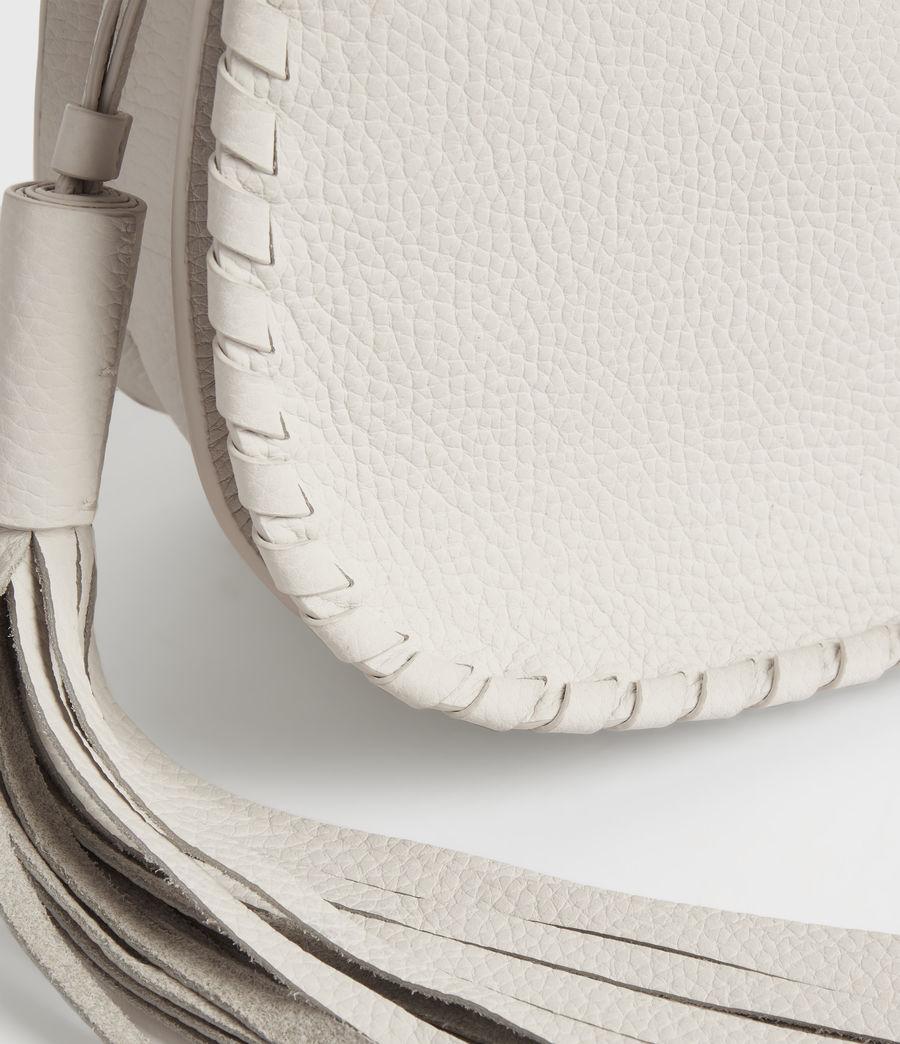 Womens Mori Lea Leather Crossbody Bag (chalk_white) - Image 6