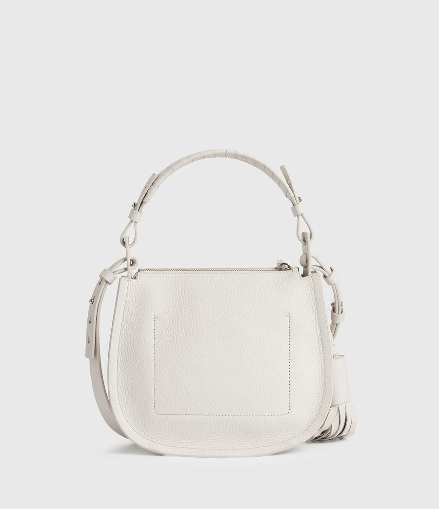 Womens Mori Lea Leather Crossbody Bag (chalk_white) - Image 7