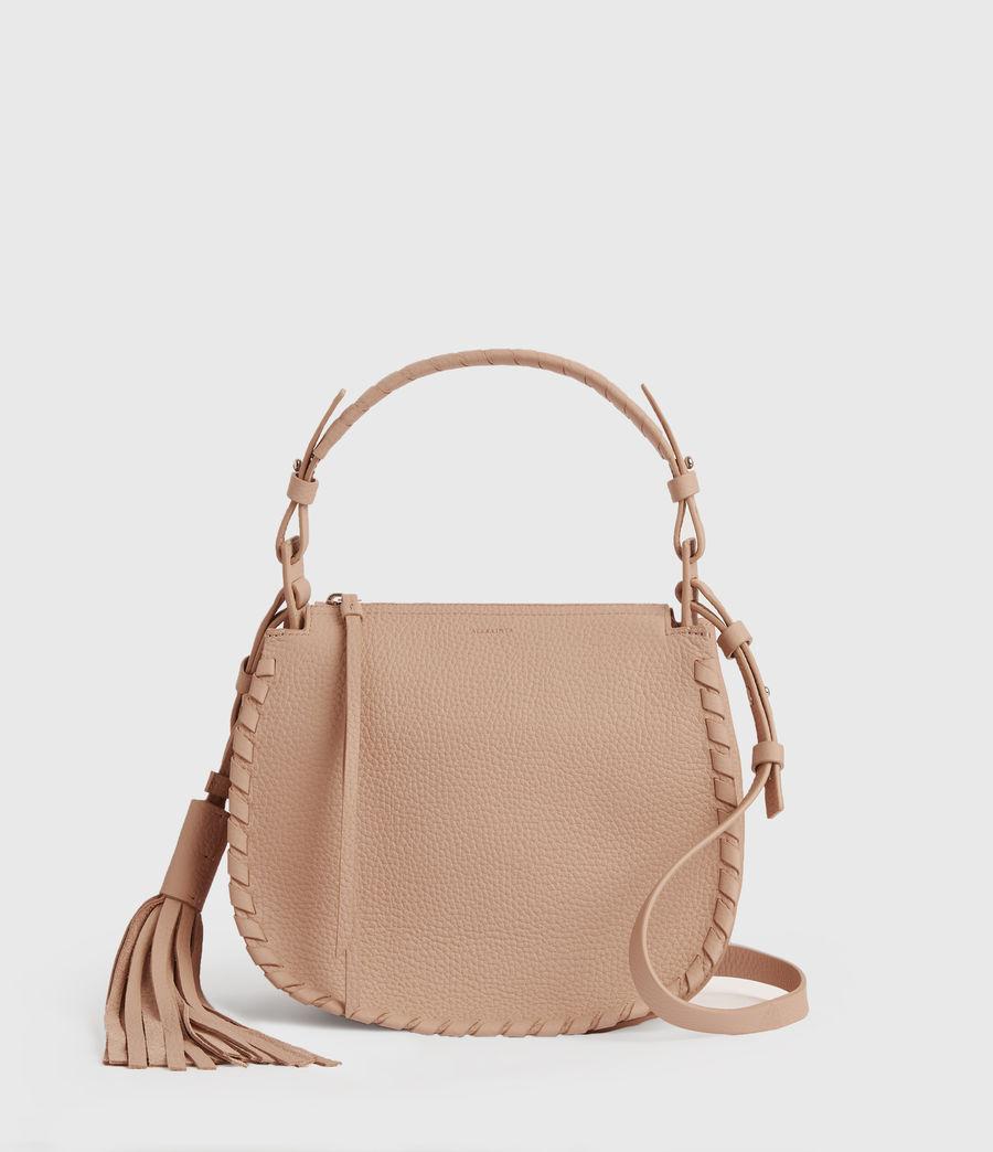 Womens Mori Lea Leather Crossbody Bag (nude_pink) - Image 1