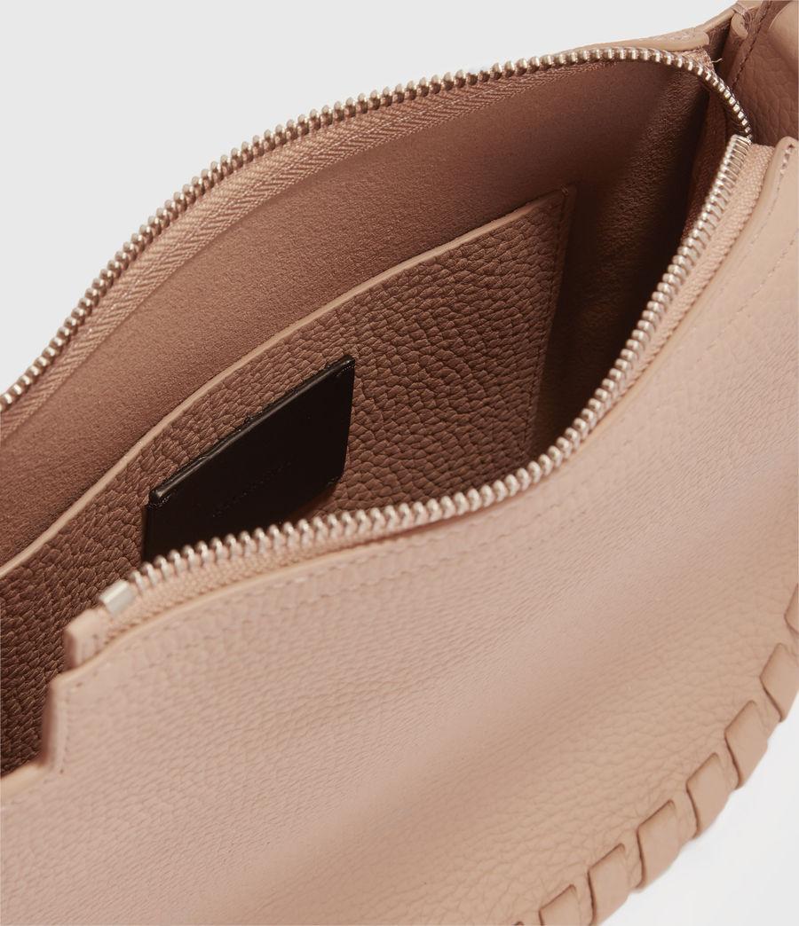 Womens Mori Lea Leather Crossbody Bag (nude_pink) - Image 3