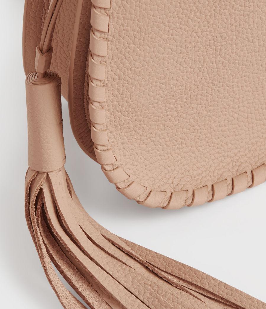 Womens Mori Lea Leather Crossbody Bag (nude_pink) - Image 6