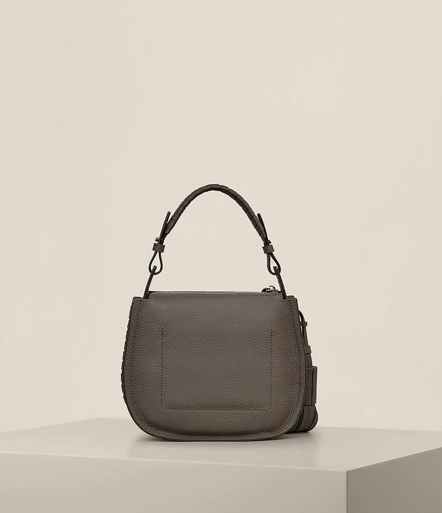 Women's Mori Leather Lea Crossbody Bag (mink_grey) - Image 7