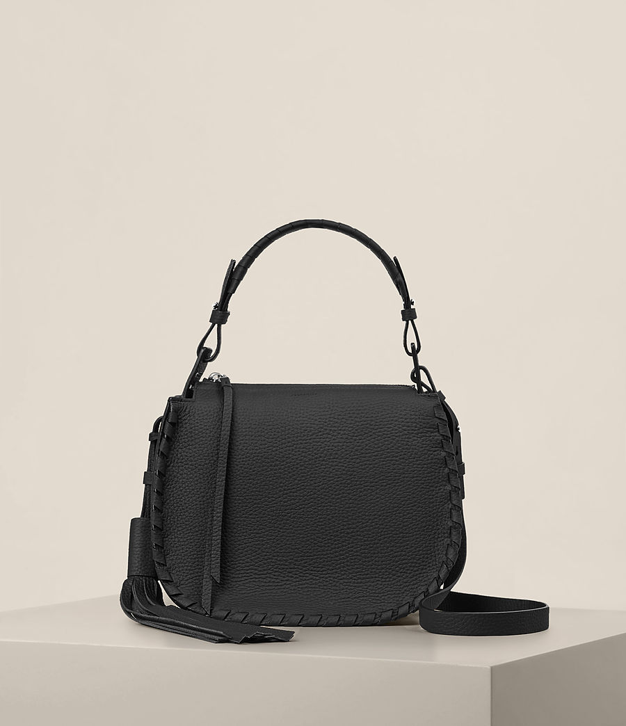 Womens Mori Crossbody Bag (black) - Image 1
