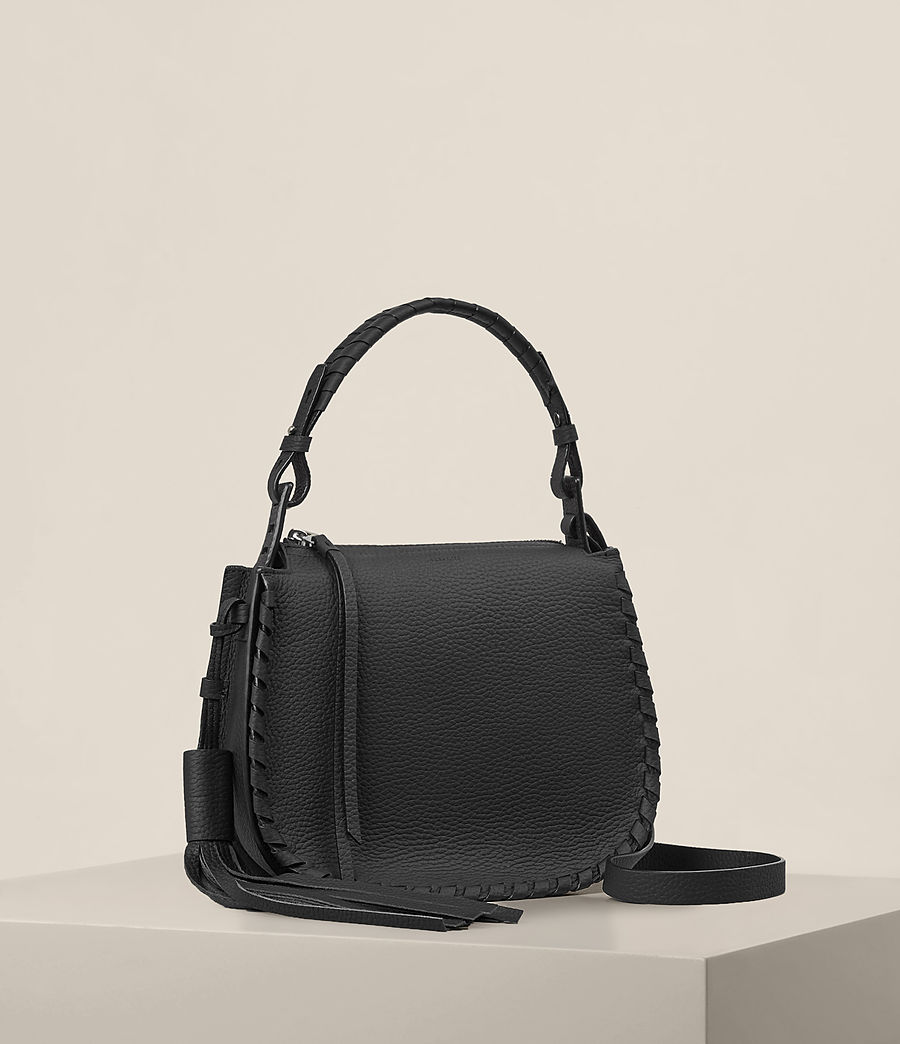 Womens Mori Crossbody Bag (black) - Image 4