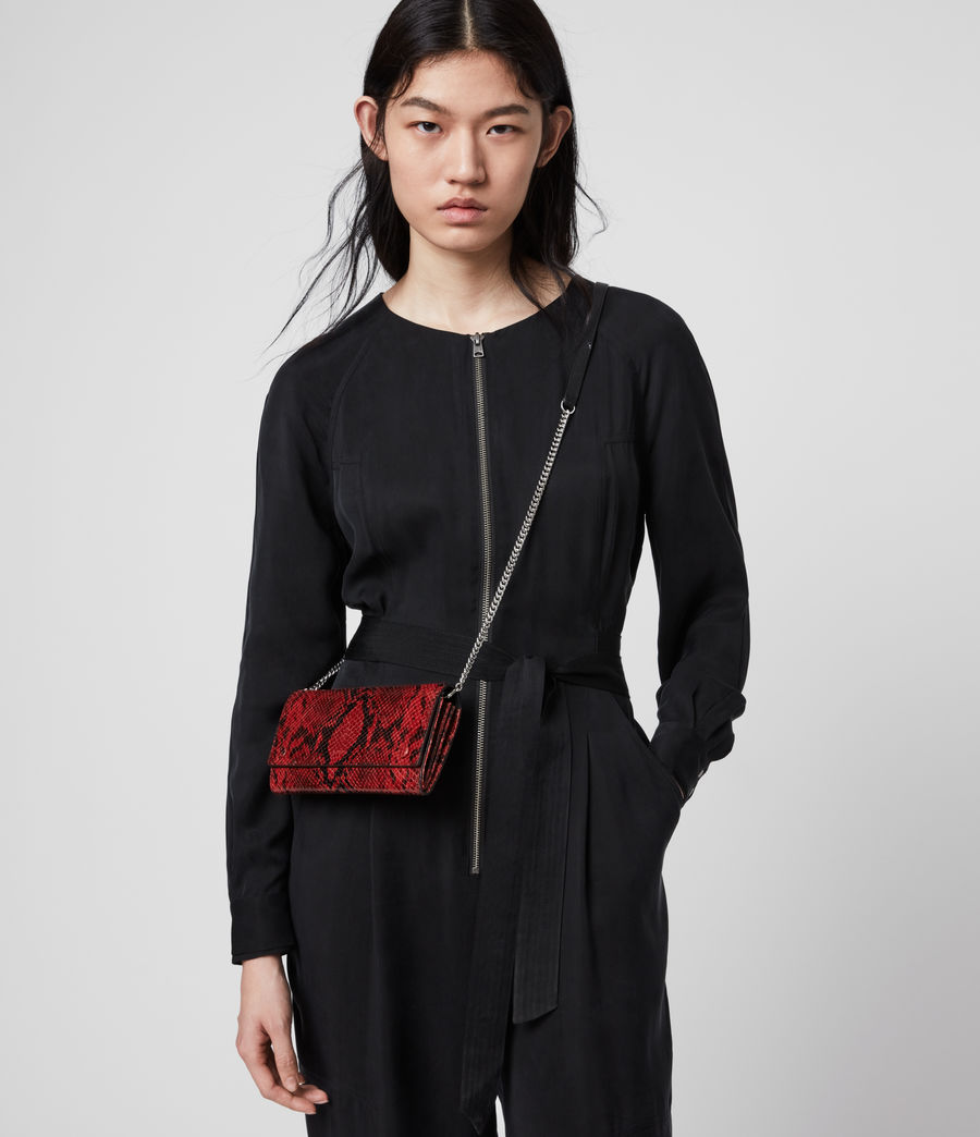 Damen Darlina Ketten Tasche (red) - Image 2