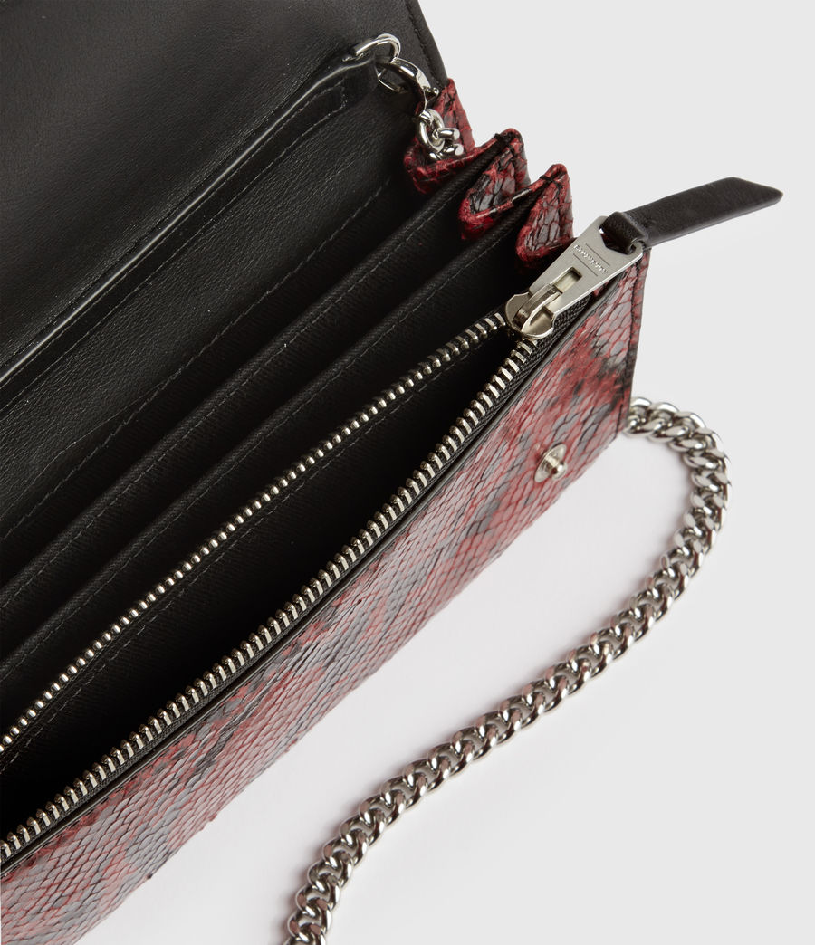 Damen Darlina Ketten Tasche (red) - Image 5
